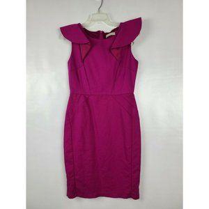 Forcast Womens Dress Pink Sleeveless Above Knee 10